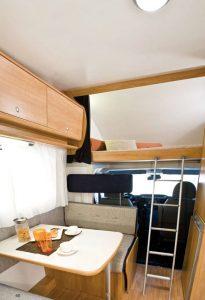 Autocaravanas Nodes Family - interior
