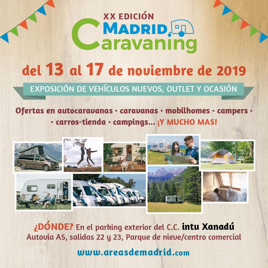 Nodes 25 - Alquiler de Autocaravanas - Caravaning - FERIA DEL CARAVANING EN MADRID