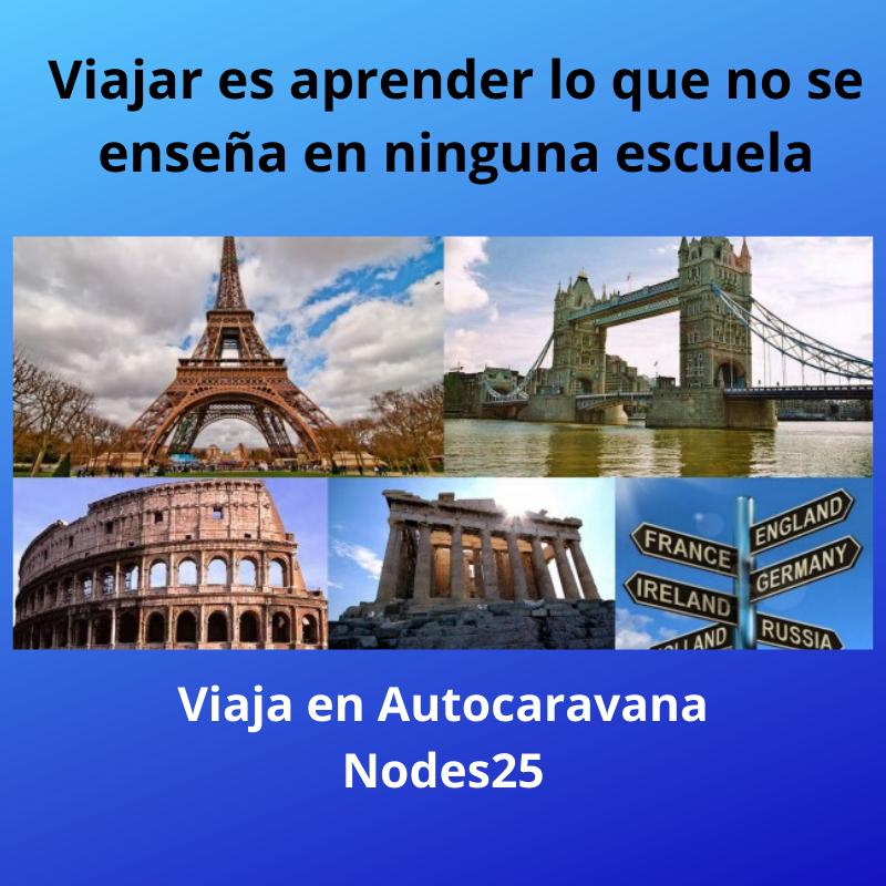 Nodes 25 - Alquiler de Autocaravanas y Venta de Autocaravanas -Europa en autocaravana