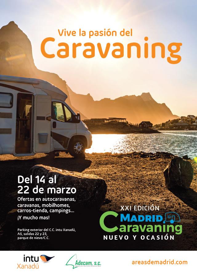 Nodes 25 - XXI Edición Madrid Caravaning - Autocaravanas de ocasión - Venta de Autocaravanas