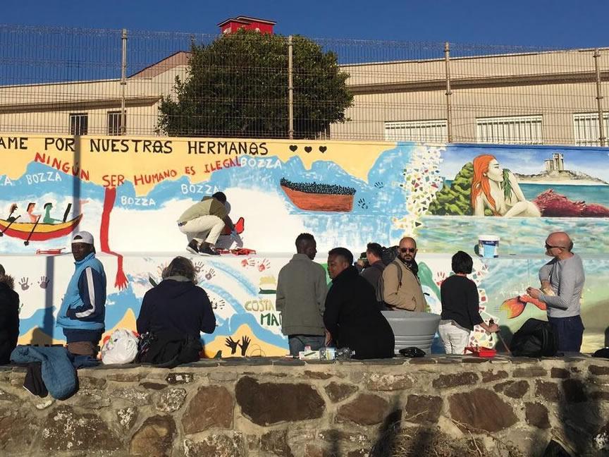 Nodes 25 - Ruta en furgoneta camper por el Street art de España