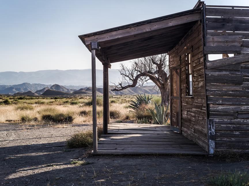 Nodes - Ruta en camper por el Desierto de las Tabernas